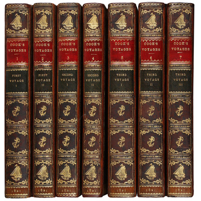The Three Voyages of Captain James Cook Round the World.