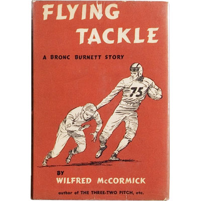 Flying Tackle - A Bronc Burnett Story