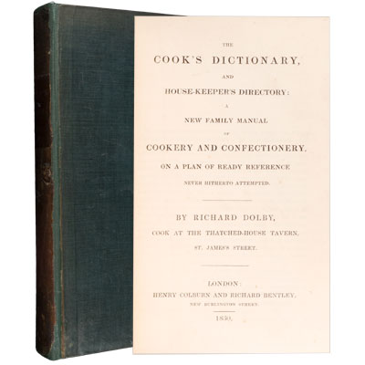 The Cook's Dictionary