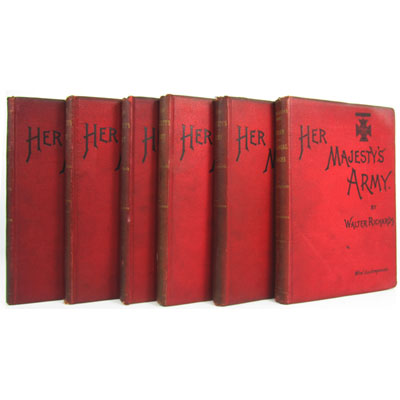 Her Majesty's Army. A Descriptive Account of the Various Regiments now comprising the Queen's Forces, from their First Establishment to the Present Time. [with] Her Majesty's Indian and Colonial Forces. A Descriptive Account of the Various Regiments now comprising the Queen's Forces in India and the Colonies