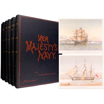 Her Majesty's Navy including Its Deeds and Battles