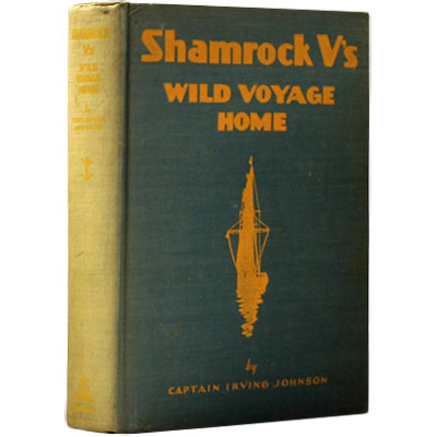 Shamrock V's Wild Voyage Home - INSCRIBED