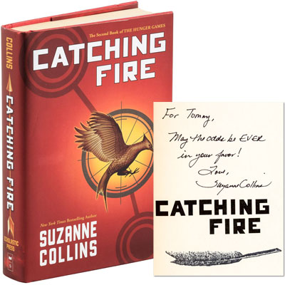 Catching Fire - INSCRIBED
