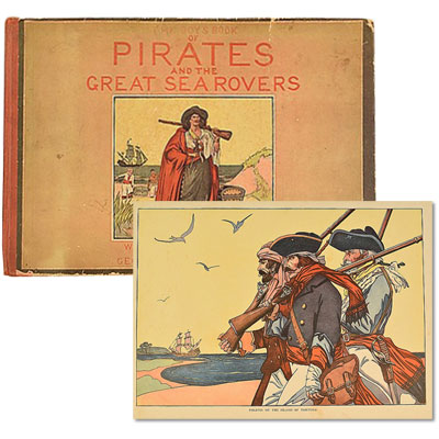 The Boy's Book of Pirates and the Great Sea Rovers
