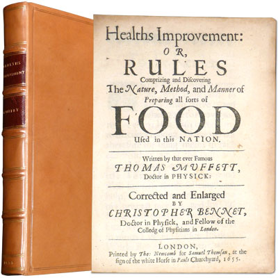 Health's Improvement: or, Rules Comprising and Discovering The Mature, Method, and Manner of Preparing all sorts of Food Used in this Nation.