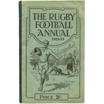 The Rugby Football Annual 1922-23