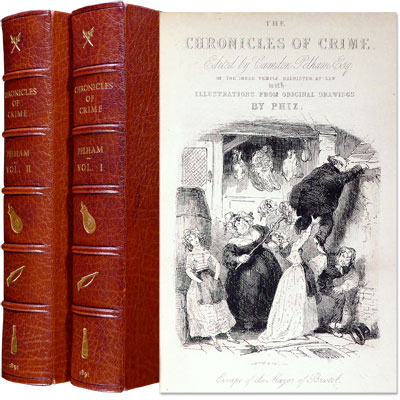 The Chronicles of Crime: Or, The New Newgate Calendar. Being a series of Memoirs and Anecdotes of Notorious Characters who have outraged the laws of Great Britain from the earliest period to 1841. Including a number of Curious Cases never before published.