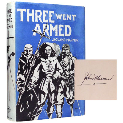 Three Went Armed - Signed