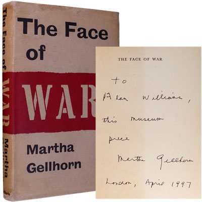 The Face of War - Inscribed
