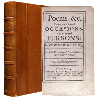 Poems, &c. Written upon several Occasions, and to several Persons